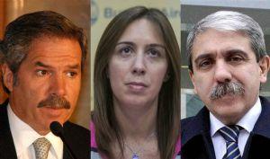 Solá, Vidal y Fernández son los candidatos a gobernar la provincia de Buenos Aires.