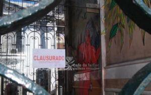El Café de la Flor fue clausurado (Foto: La capital)