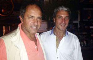 Daniel Scioli y Pepe Scioli (Foto: Archivo)