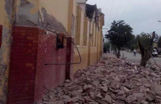 Derrumbes en Salta tras el fuerte sismo (@oterosalta).