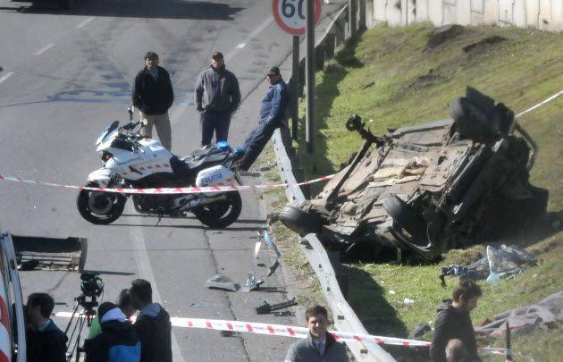 Accidente fatal en la General Paz.
