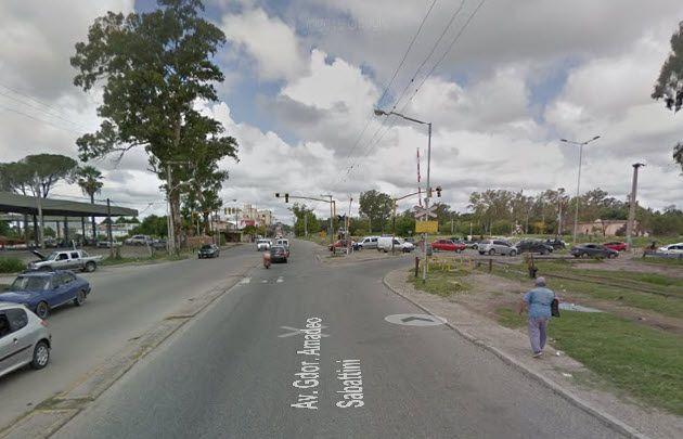 El siniestro fue en Sabattini y Camino a Capilla de los Remedios (Foto: Street View)
