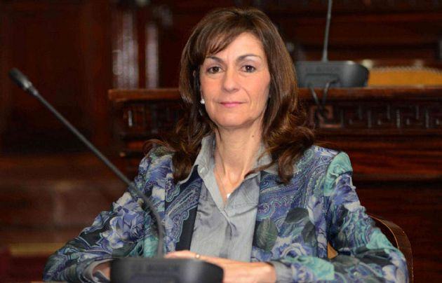 Norma Corsino, senadora radical por la provincia de Mendoza.