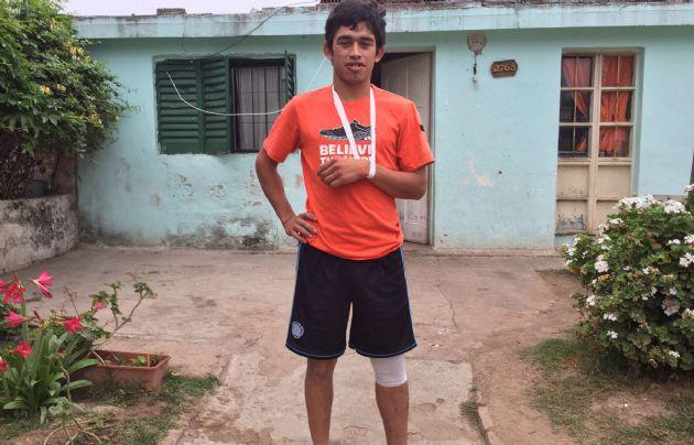 Rodrigo Campos sólo sufrió algunos raspones.