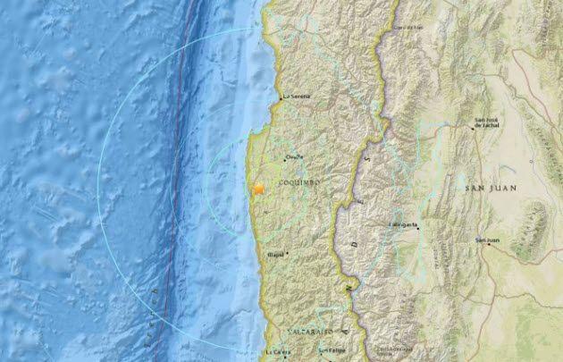Dos fuertes sismos se registraron en Chile y sacudieron Cuyo y Córdoba.
