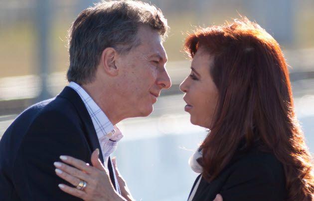 Macri y Cristina acordaron una reunión para hoy.