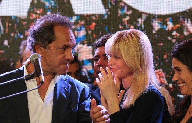 Scioli habló sobre su relación con Rabolini.