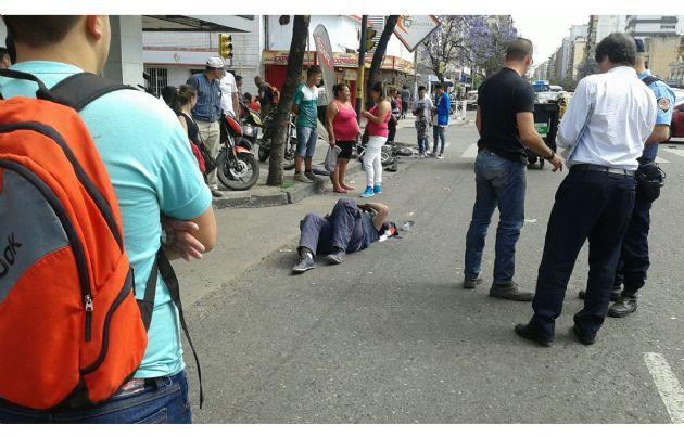 El choque se produjo en Maipú y Catamarca.
