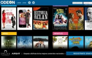 La Presidenta llamó a Odeon, ''el Netflix criollo''.
