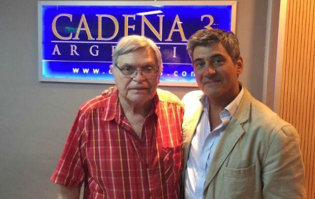 Daniel Balmaceda visitó los estudios de Cadena 3 durante Viva la Radio.