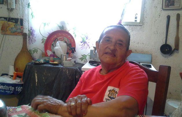 Isabel Gómez terminó el primario a los 79 años.