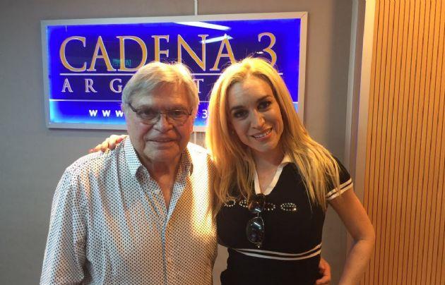 Rony Vargas y Fátima Flórez en Cadena 3.