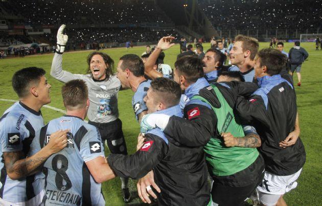 Belgrano festejó la clasificación.