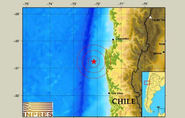 Un sismo en el Océano Pacífico se sintió en Mendoza.