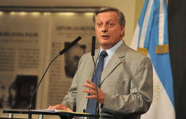 El ministro de Energía y Minería, Juan José Aranguren