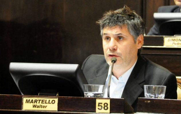 El ex diputado y hoy referente institucional del Frente Renovador, Walter Martello.