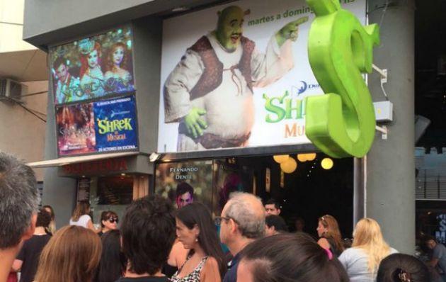 ''Shrek'' es una de las obras más destacadas en la villa serrana.