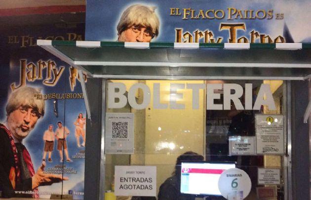 """El Flaco consiguió agotar entradas con su show """"Jarry Torpe""""."""