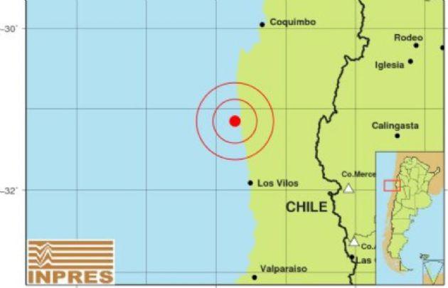 El Inpres informó que el sismo fue de 5.1 grados en la escala de Richter.