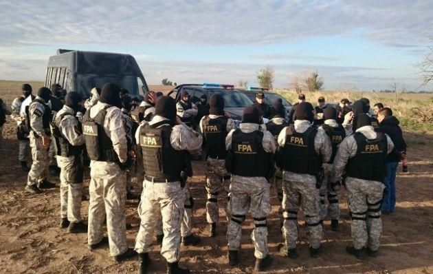 Fuerza Policial Antinarcotráfico.