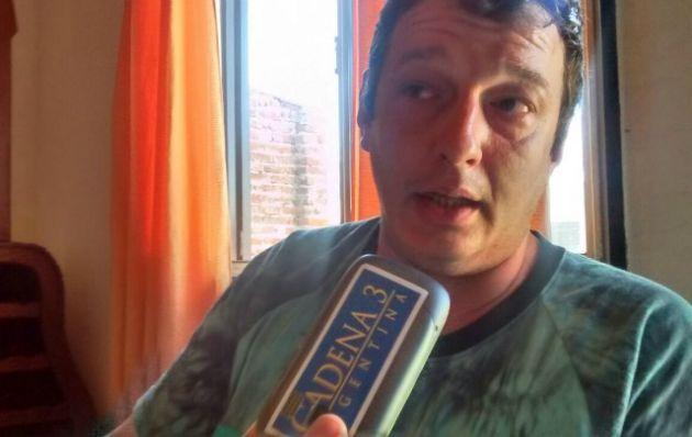 Daniel, el dueño del Megane que figura en el video.