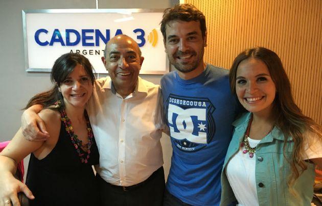 Peter Alfonso visitó los estudios de Cadena 3.
