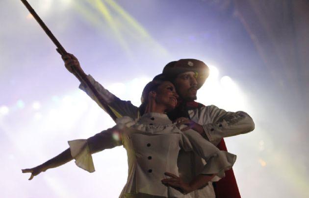 El Ballet Folclórico Nacional abrió la sexta luna de Cosquín