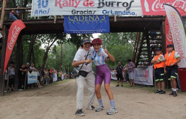 La 10ª edición del Rally Mundial de Burros fue todo un éxito.