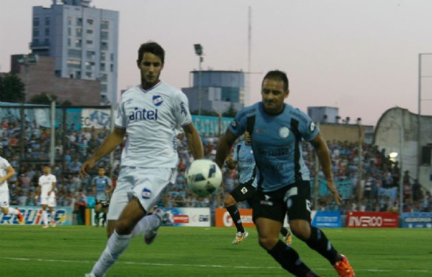 Belgrano empató 1 a 1 a Nacional de Montevideo.