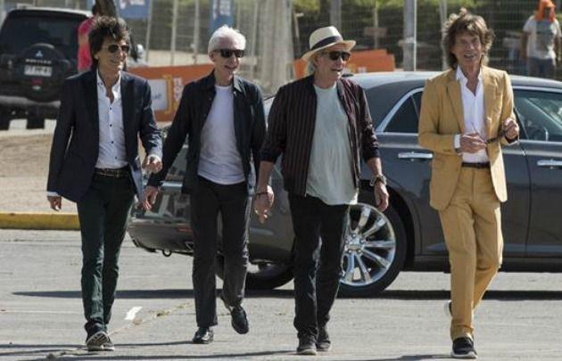 Los Stones ya están en Chile.