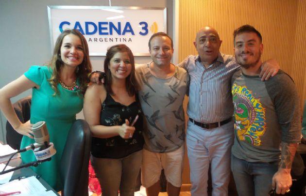 Sebastián Almada y Fede Bal visitaron Juntos.