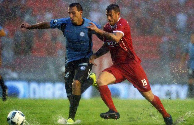 Independiente se quedó con los tres puntos en el final del partido.