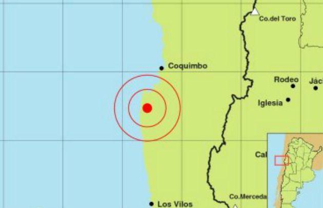 Este martes se sintió un sismo de 6,5 grados Richter.