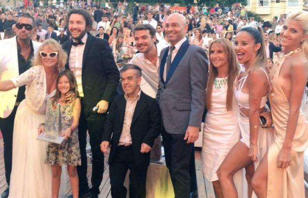 """""""Marcianos en la casa"""" fue la elegida del público (Foto: @siempreangls2)."""