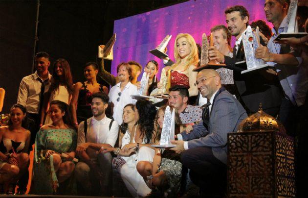 Toda la colonia artística se reunió en la entrega de los Premios Carlos.