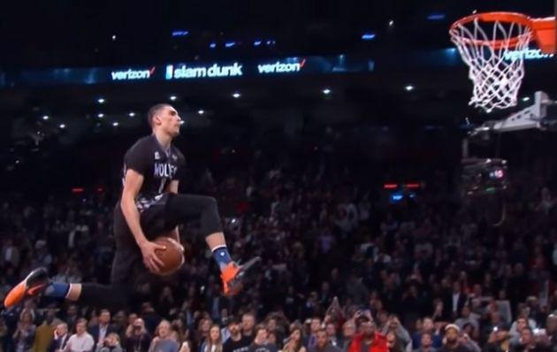 All Stars NBA: LaVine retuvo el título de las volcadas