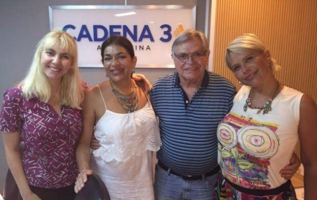 Nazarena y Claribel en Viva la Radio.