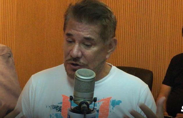 Arnaldo André improvisó en la conducción de ''Viva la Radio''.