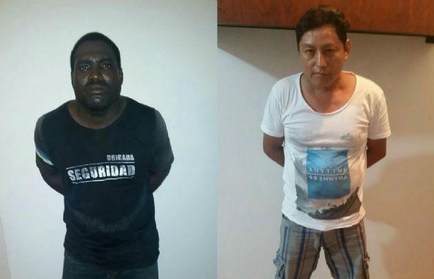 Los detenidos por el crimen de las mendocinas (Foto: @ppsesa)
