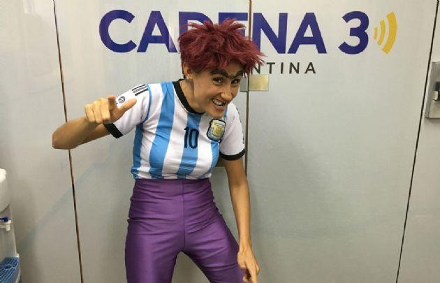 La Bicho pasó por ''Viva la Radio''.
