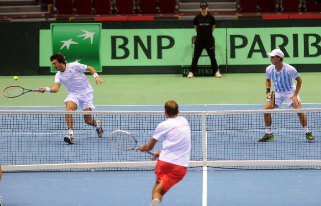 Argentina se instaló en semifinales de la Davis (Foto: Archivo)