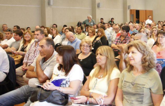 Los docentes de UEPC realizan asambleas en Córdoba.