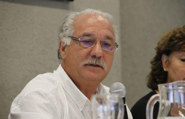 Juan Monserrat, en asamblea (Foto archivo)