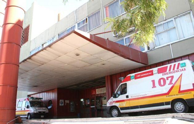 Pablo Javier Villafañe fue llevado al Hospital de Urgencias por un móvil policial.