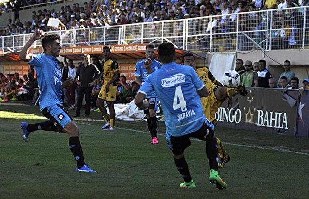 Belgrano visita a Olimpo en el Roberto Carminatti.