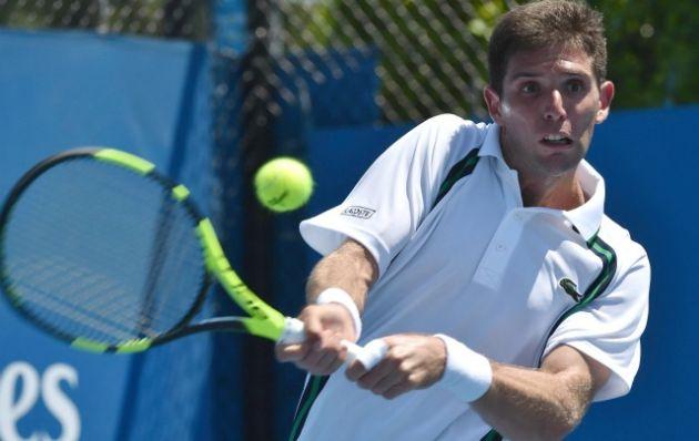 Federico Delbonis (40 del ranking mundial de la ATP)