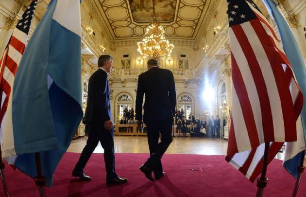 La visita de Barack Obama a Argentina.