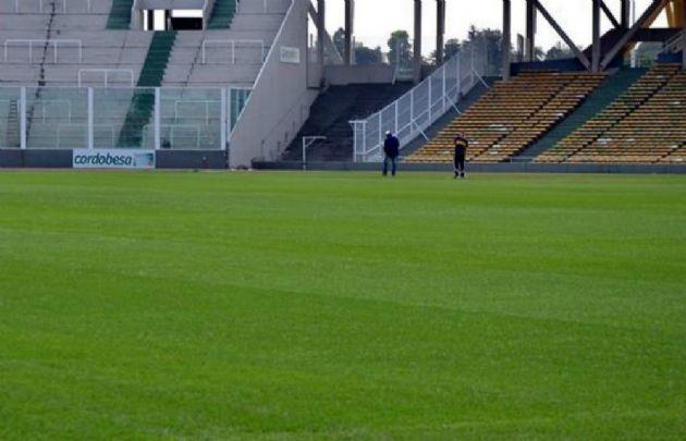 La Agencia Córdoba Deportes mostró fotos del estado del Kempes este sábado.