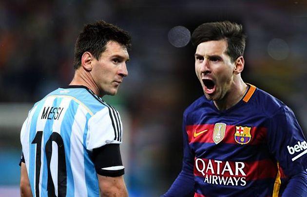 Messi explicó por qué juega distinto en Argentina y el Barça
