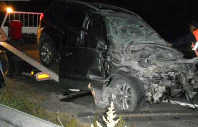 Así quedó el auto de Chano tras el choque (Foto: El Ciudadano)